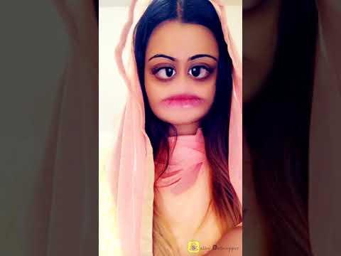 Porena Chokher Polok w Snapchat Filter (Parody)