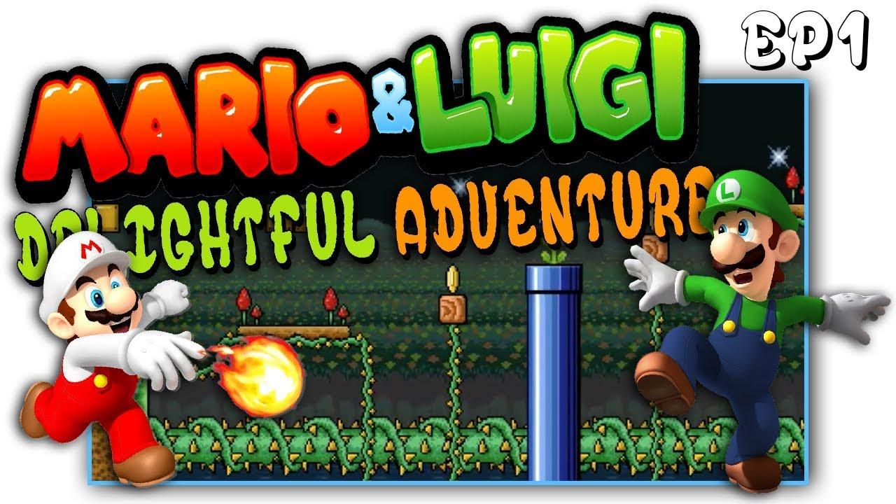 Mario & Luigi's Delightful Adventure - SMBX - EP1