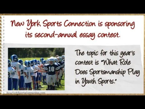 NYC Student Sportsmanship Essay Contest Offers $500 Top Prize