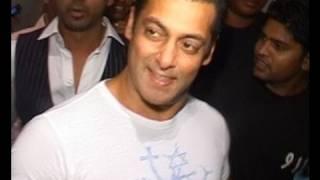 Salman Khan Attends Nikhil Dwivedi's Reception Party