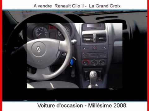 Achat vente une renault clio ii la grand croix youtube for Garage renault chambon la grand croix