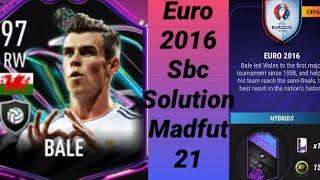 Euro 2020 Sbc Bale Future Icon Sbc MADFUT 21