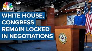 White House, Congress remain locked in negotiations on coronavirus stimulus — Here's the latest