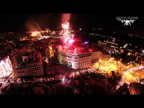 "La Grande Post Feu D'artifice - 01 Novombre 2014 ""Drone"""