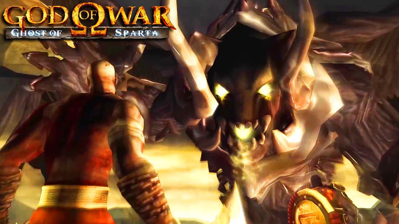 God of War: Ghost of Sparta - Thanatos Boss Fight & Ending
