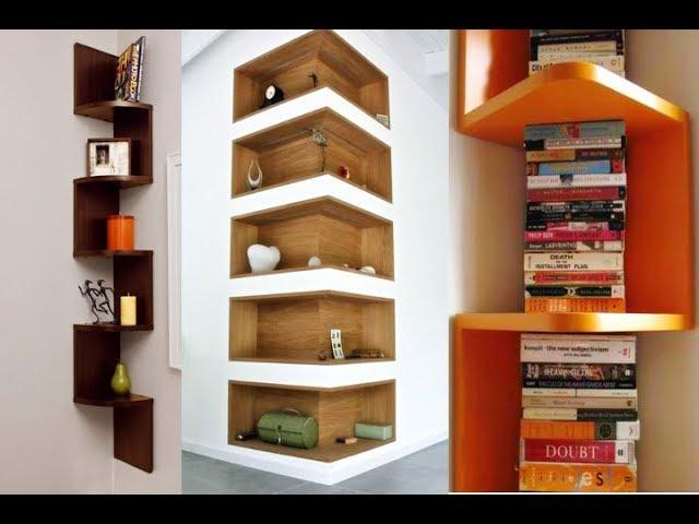 زوايا خشبية ابداعية للحائط Creative Ideas For Wooden Corner Shelf Youtube