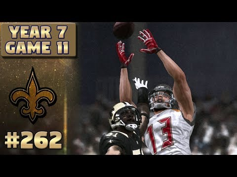 Down To The Wire | NO vs TB | (S7,G11) | Madden NFL 17 New Orleans Saints Franchise Ep. 262