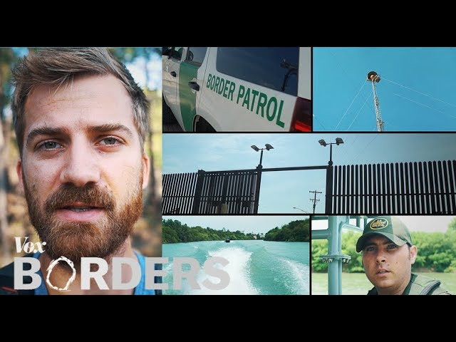 The wall of eyes trained on the US - Mexico border