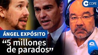 """Expósito advierte de la situación límite de España: """"La economía está dopada"""""""