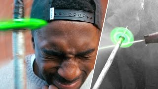 JET POWERED FIDGET SPINNER TO THE FACE!!