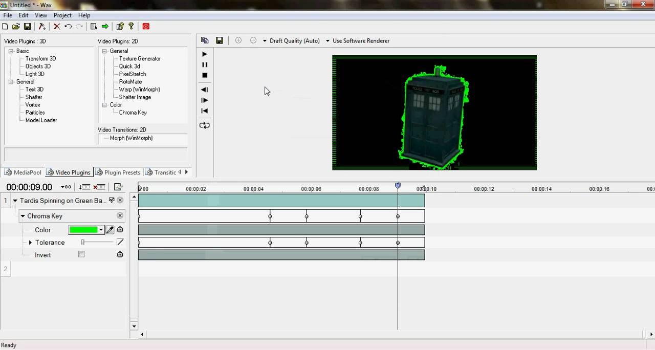 efeito chroma key para windows live movie maker