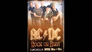 AC/DC - You Shook Me All Night Long - Live [1st Week of Coachella 2015]