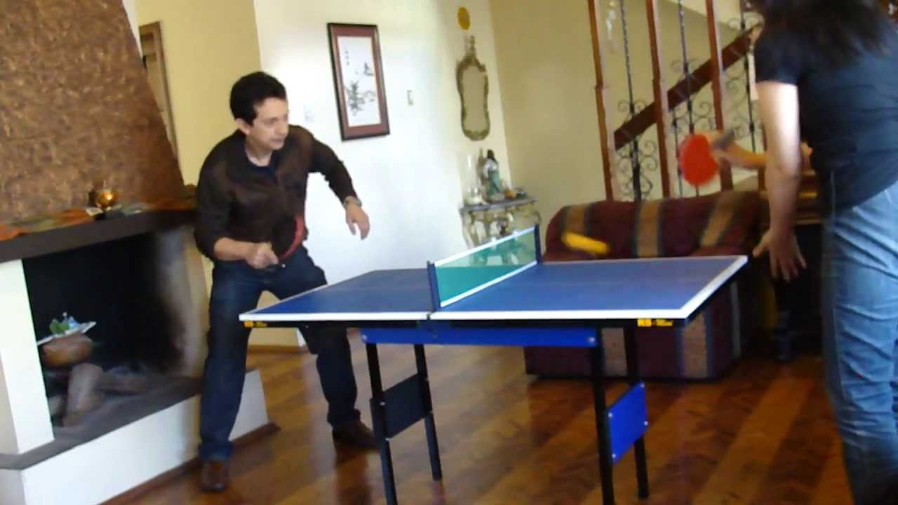 Mini mesa de Ping Pong RS - YouTube