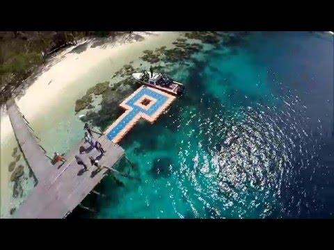 Jepretustel - Aerial Raja Ampat Papua Trip April 2016, (Waisai, Painemo, Arborek, Friwen and Wayag)