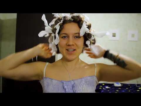 Вопрос: Как завить волосы на туалетную бумагу?