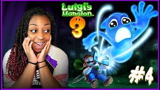 YOU DON'T SCARE ME!! | Luigi's Mansion 3 Part 4 Gameplay!!!