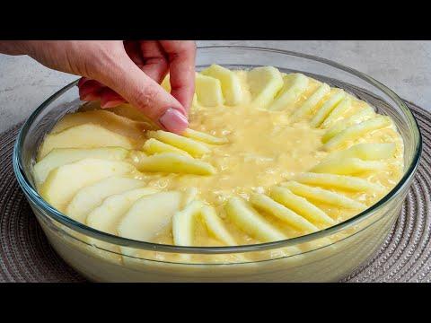 je-retombe-en-enfance-gâteau-aux-pommes-crémeux-et-moelleux-que-faisait-grand-mère -savoureux.tv