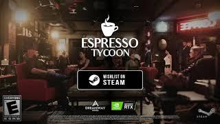 Espresso Tycoon - Announcement Trailer