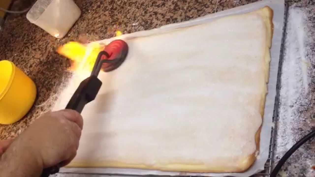 fer a creme brulee electrique