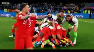 BBC Colombia v England Shootout Montage