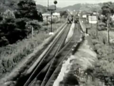 Norfolk & Western Railroad In The 1950