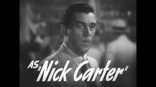 1940 phantom raiders - trailer walter pidgeon as nick carter