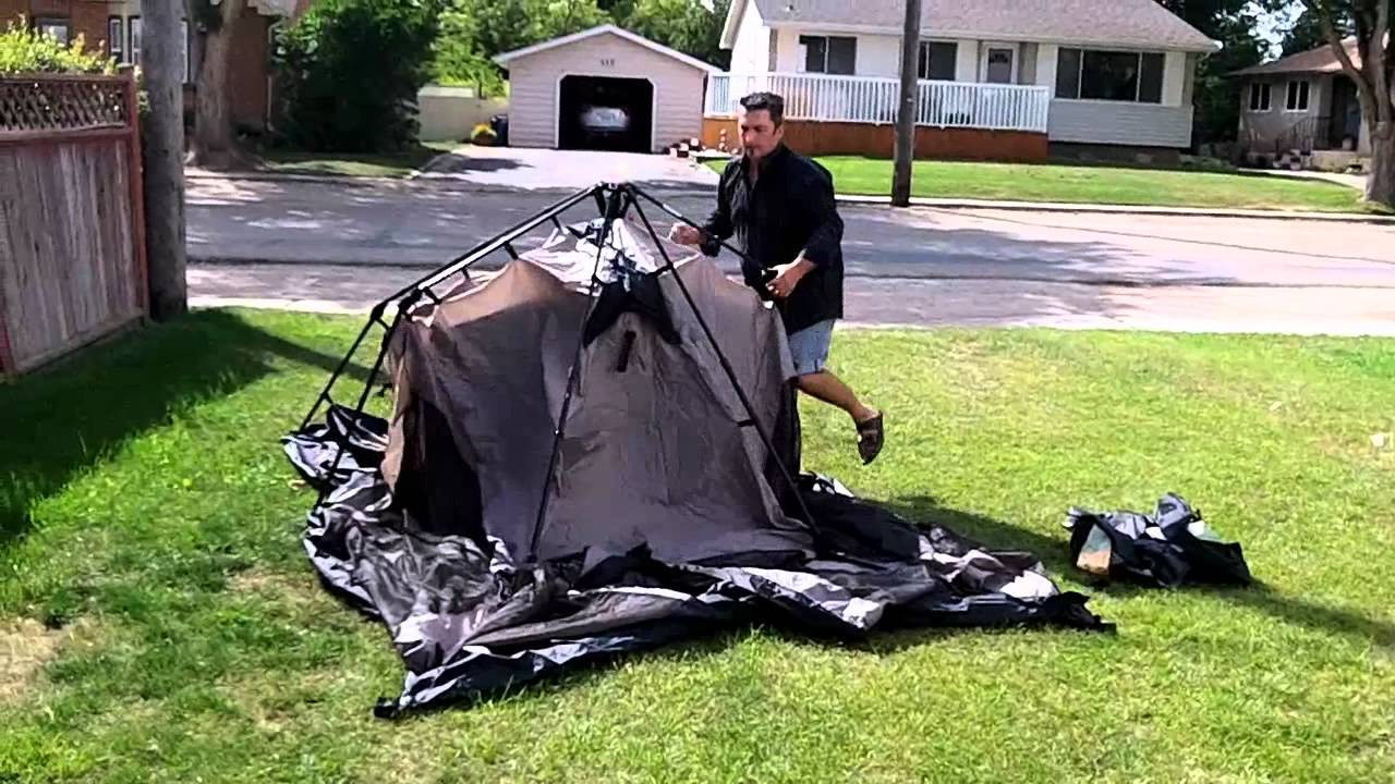 3cfab4d4b0f Setting Up the Coleman Instant Tent 8 - YouTube
