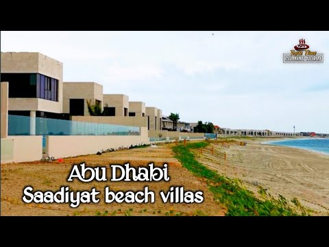 Abu Dhabi saadiyat Island | beach villas | tourist place | club |