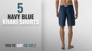 Top 10 Navy Blue Khaki Shorts [2018]: Vilebrequin Linen Bermuda Shorts - Men - M - Navy Blue