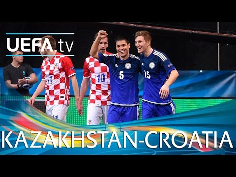 Futsal EURO Highlights: Watch four-goal Kazakhstan go through
