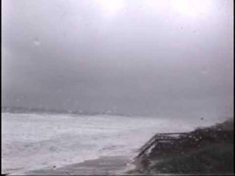 Hurricane Bertha at Surf City, NC   July 1996