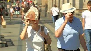 Heatwave sweeps Iberian peninsula