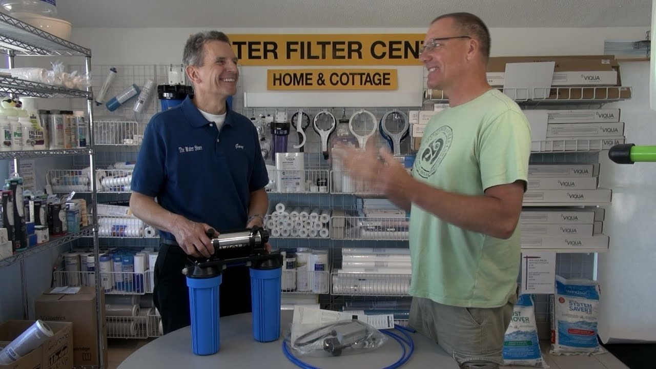 New Water Filtration System For Our Boat Sea Ray Sundancer