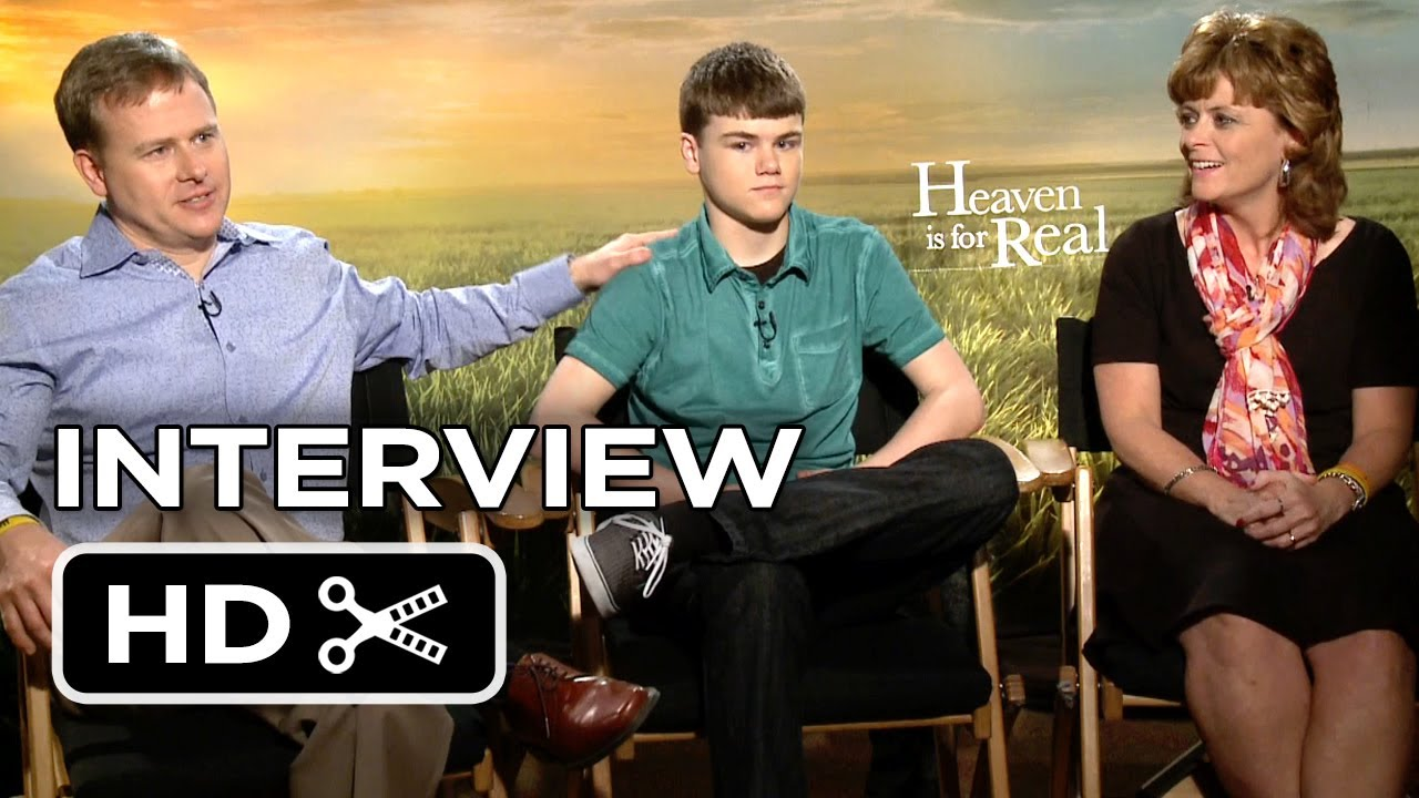 Heaven Is for Real Interview - Burpo Family (2014 ...