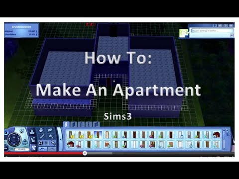 How To Make An Apartment The Sims3