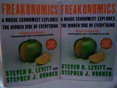 chapter five summary of freakonomics Superfreakonomics: chapter 5 many of our decisions, both inside and outside the investment world, are often based on anecdotal information, anomalies, emotions, or existing opinions superfreakonomics illustrates how applying an economic approach can help us change this.