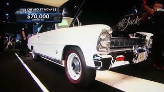 1966 Chevrolet Nova SS,Barrett-Jackson car auction,value of,estimated cost,Classic Cars