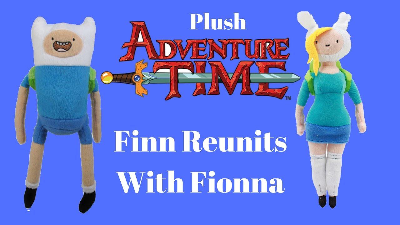 Adventure Time Finn And Fionna plush adventure time: finn reunits with fionna