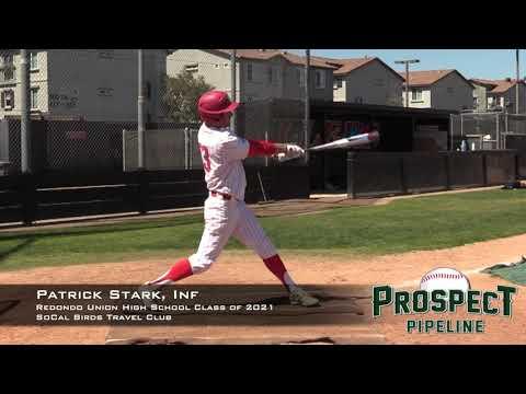 Patrick Stark Prospect Video, Inf, Redondo Union High School Class of 2021