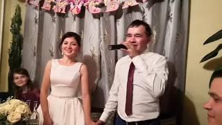 Марий артист Ибулаевы на своей свадьбе