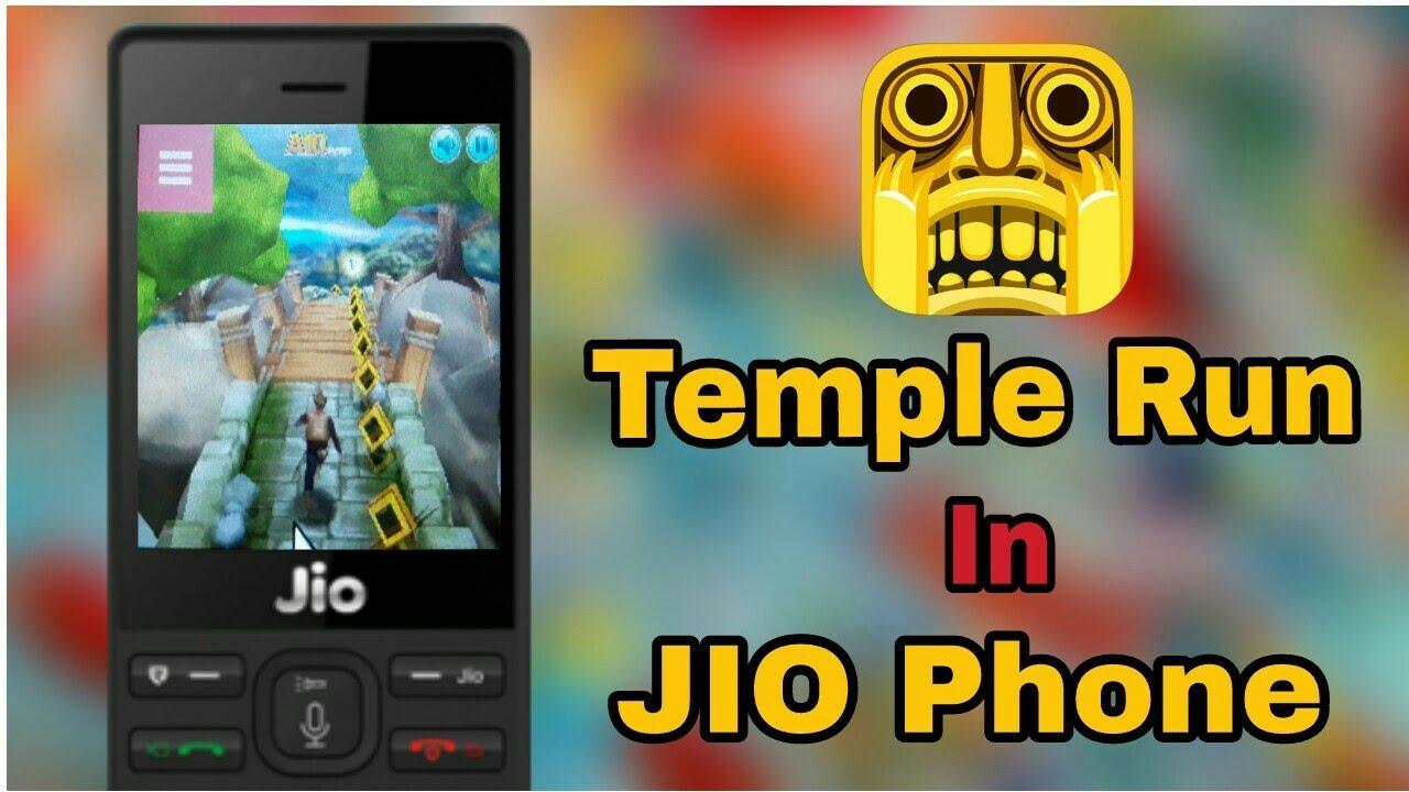 Play Temple Run In Jio Phone Temple Run Game 2018 Youtube