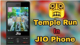 Play(temple Run) In Jio Phone Temple Run Game [2018]
