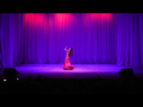 Концерт Antonia Azahara Eurasia Raks Oriental Dance Festival en Russia
