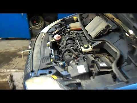 Ford Focus c-max, 115 лс., Замена термостата.