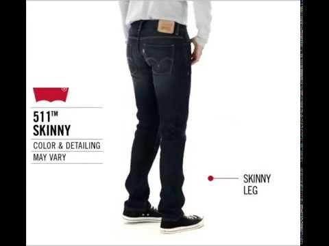 Slim leg vs skinny jeans