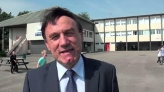 Rentrée scolaire en Nièvre : Patrice JOLY visite la