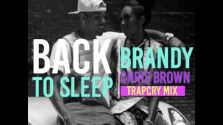 "Brandy ""Back to sleep"" remix with Chris Brown"
