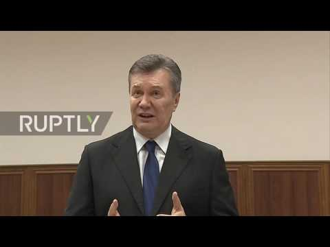 Russia: Yanukovych approves of potential Poroshenko sit down