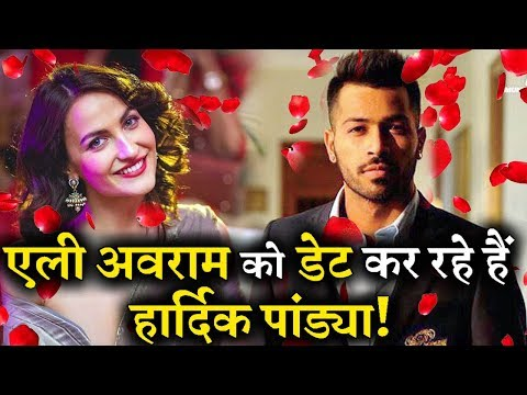 OMG! Cricketer Hardik Pandya is Dating Elli Avram?