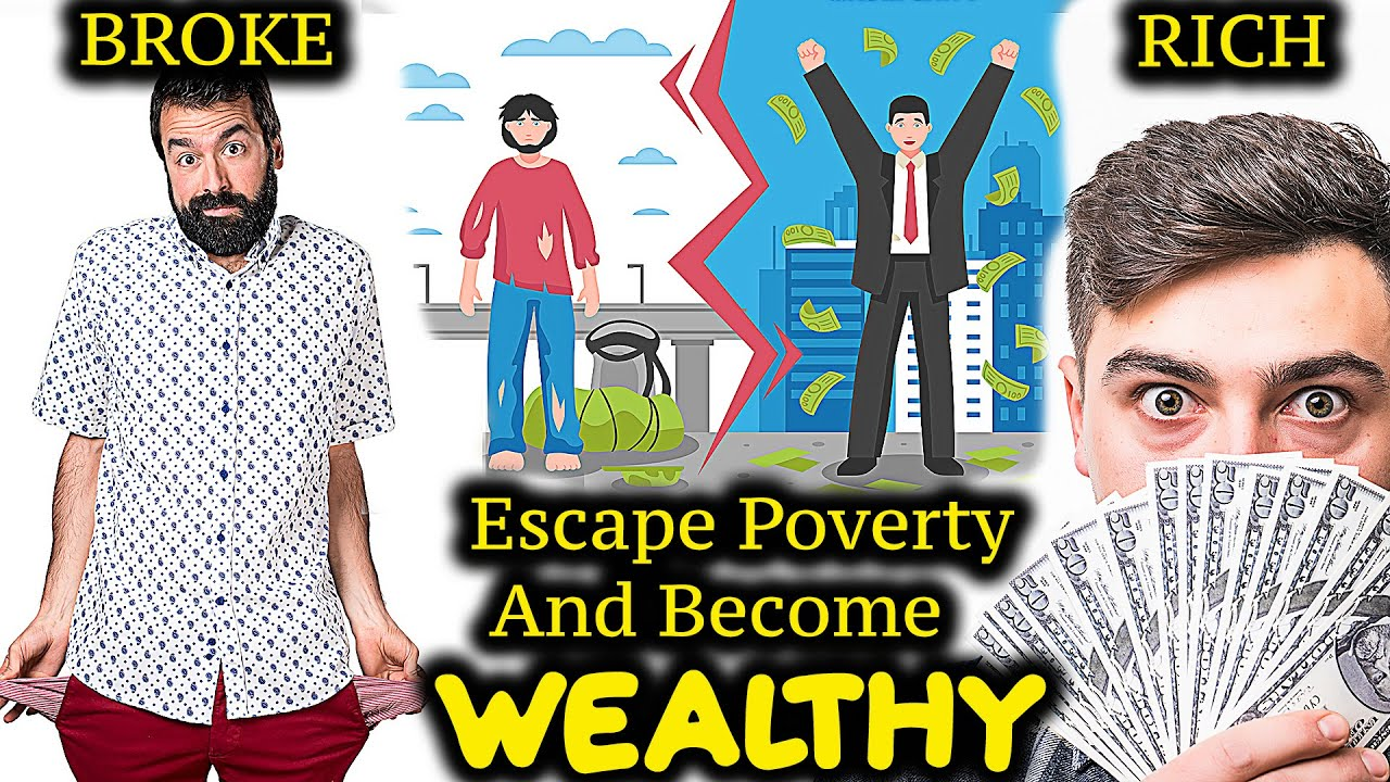 6 Ways Young Men Can Escape Poverty And Become Rich